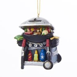 grill master ornament grill with tools ornament