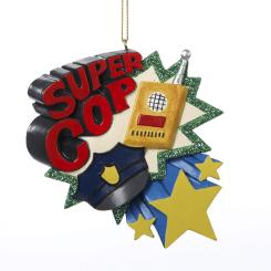 super cop ornament