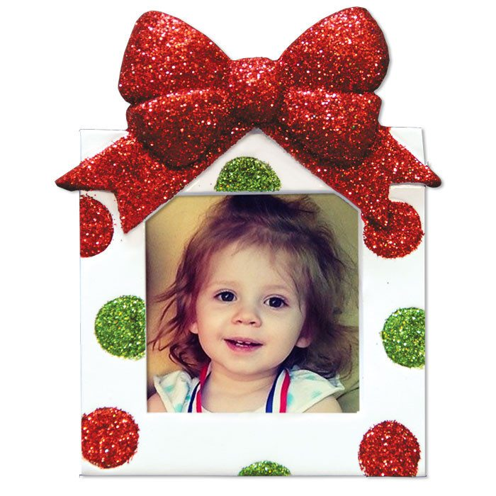 ogg170 2x2pic small christmas frame ornament