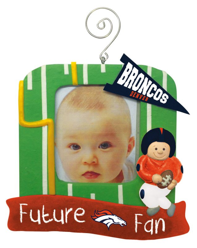 denver broncos future fans frame ornament