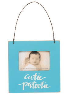 cutie patotie frame ornament