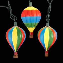 hot air balloon christmas lights