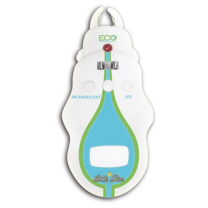 LED incandescent light bulb tester