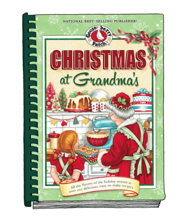 christmas at grandmas cookbook