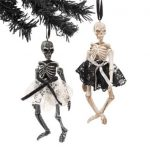 madame skeleton ornaments