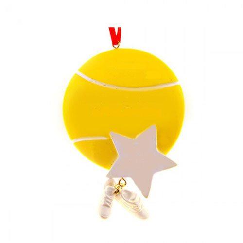 tennis star ornament