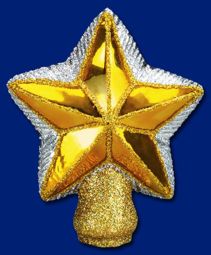 50007 old world christmas miniature star tree topper