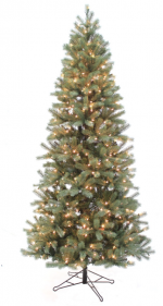 douglas fir slim artificial christmas tree