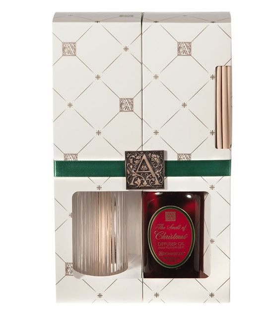 smell of christmas reed diffuser set