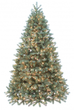 douglas fir pre lit artificial christmas tree