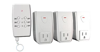 3 pack indoor remote system