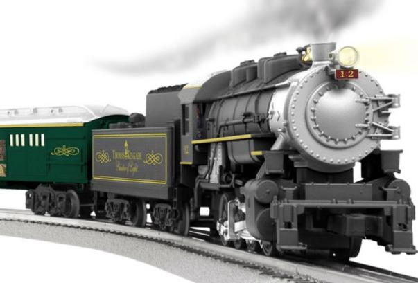 lionel thomas kinked christmas train