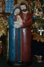 ya133 one piece holy family yard art decor nativity