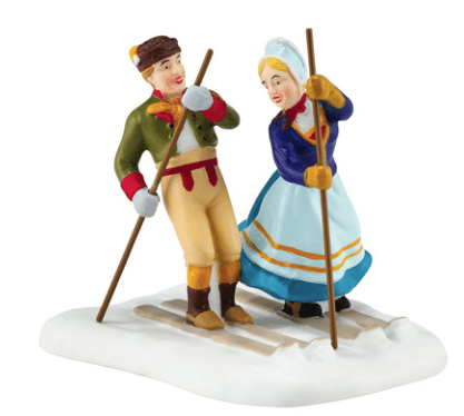 department 56 alpine village new 2016 love on the slopes