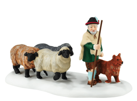 department 56 alpine village new 2016 shepherding the flock