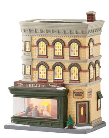 department 56 nighthawks christmas in the city new 2016
