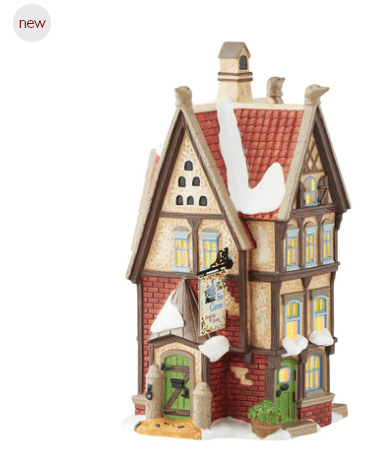 department 56 six geese bedding and down new 2016 dickens village