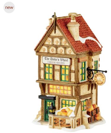 Department 56 Dickens village building dukes wheel cheese shop