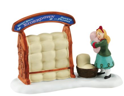 dickens village accessory the perfect pillow new 2016 accessory