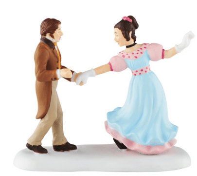 department 56 a dance with belle