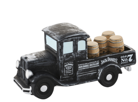 department 56 new england village jack daniels delivery truck