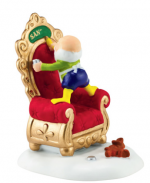 department 56 north pole a special touch santas chair workshop
