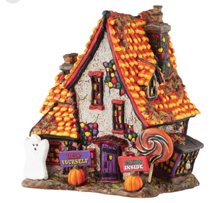 department 56 halloween village sweet trappings cottage new 2016