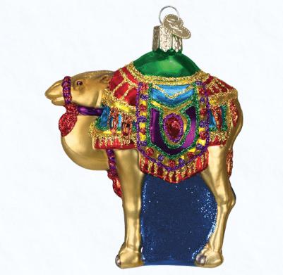 old world christmas magi's camel