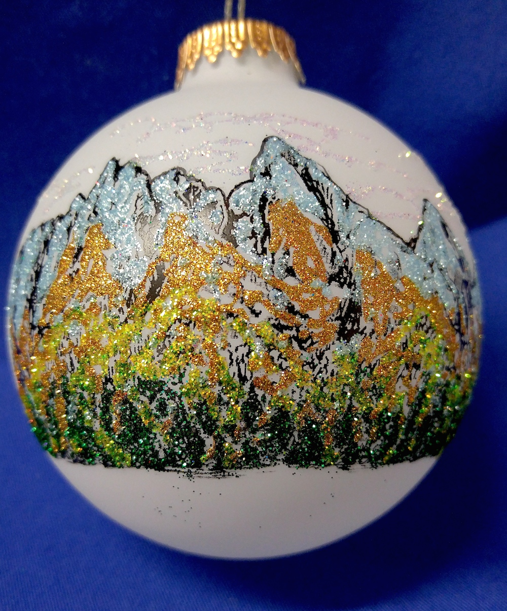 colorado rockies ornament