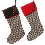 houndstooth stocking