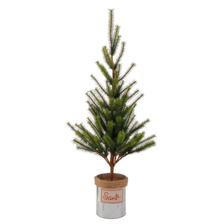 3602345 unlit pine tree 34 inch or 24 inch tree
