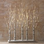 2.5 foot white birch grove