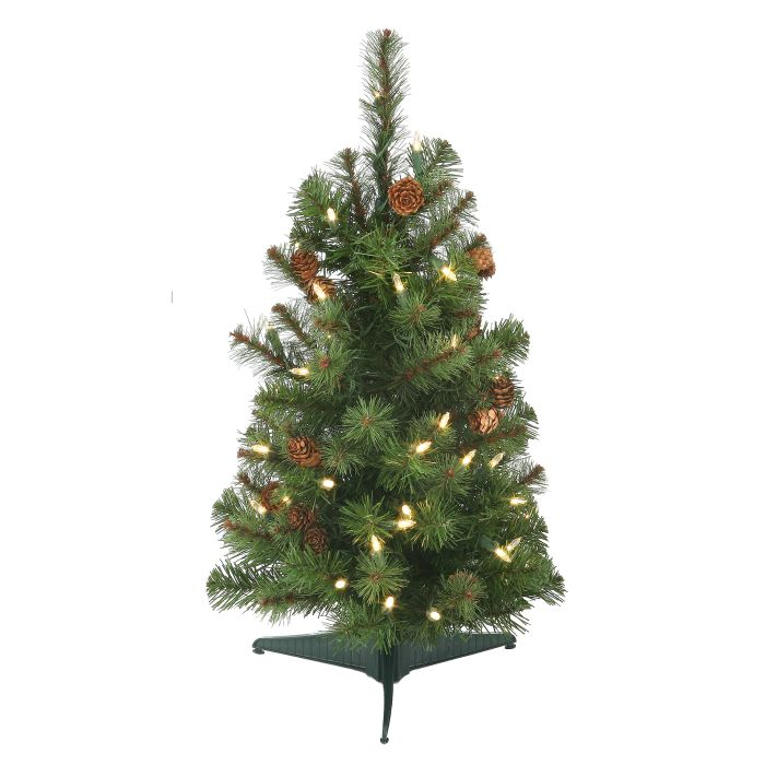 2 foot sherwood forest christmas tree