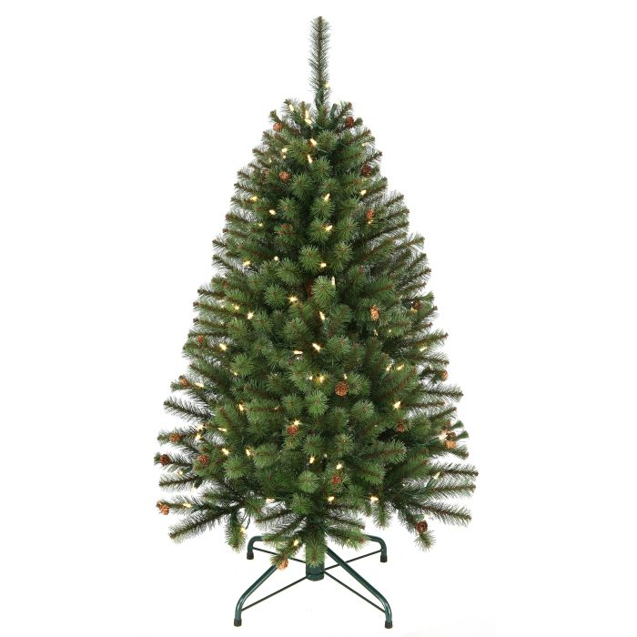 4 foot sherwood forest christmas tree