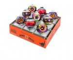 christopher radko shiny brutes halloween rounds with reflectors