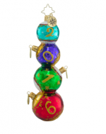 christopher radko stacked sixteen 2016 ornament