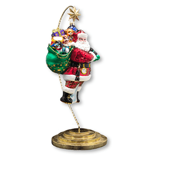 christopher radko ornament display