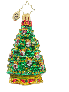 christopher radko noble fir gem ornament