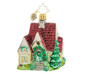christopher radio perfect cottage gem ornament