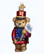 old world christmas 2016 marching teddy ornament