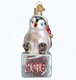 old world christmas 2016 cheerful penguin ornament