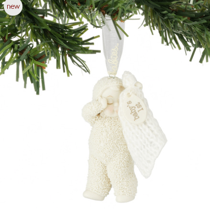 snowbabies baby's first christmas ornament