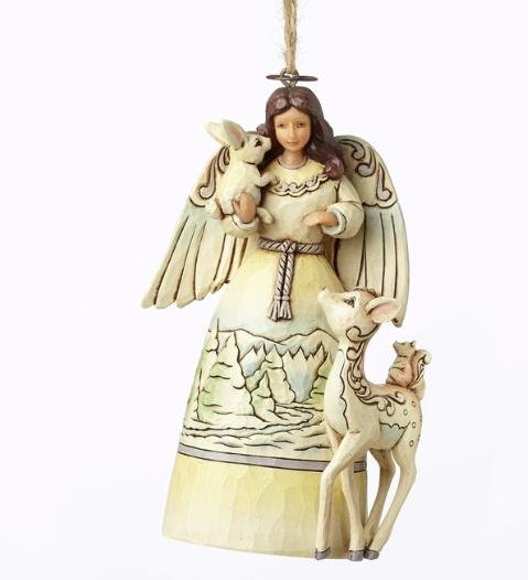 jim shore woodland angel ornament