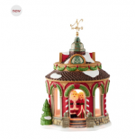 department 56 north pole cheers to you 40th anniversary gazebo