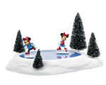 department 56 mickey and minnie skating pond