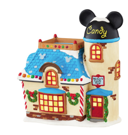 department 56 mickey's candy shop