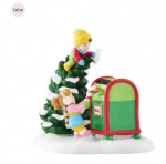 department 56 north pole letters to santa 40th anniversary piece