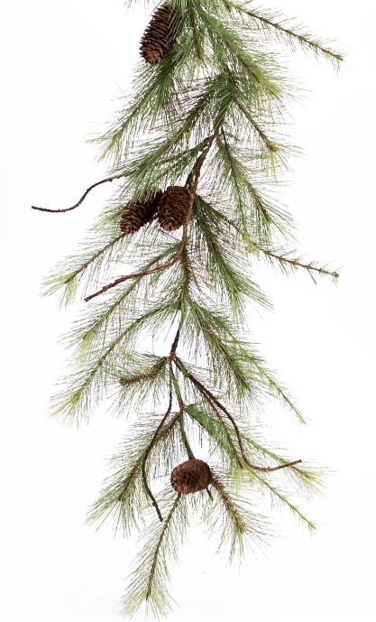 ga005 pinecone garland