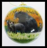 colorado bear family outdoor ornament