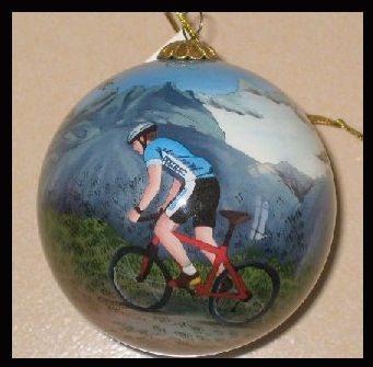 colorado bicycle ornament